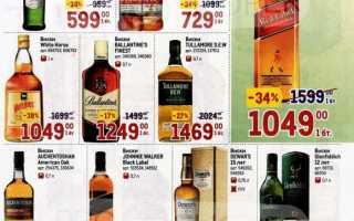 Каталог товаров МЕТРО: Алкоголь по акции с 1 по 14 апреля 2021 года