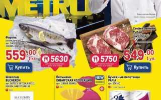 Каталог товаров МЕТРО Кэш энд Керри с 16 по 29 сентября 2021 года