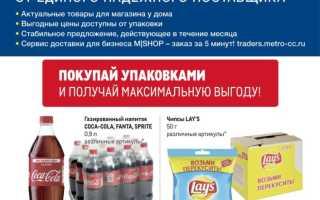 Каталог товаров МЕТРО: Проходим по ценам с 24 июня по 21 июля 2021 года