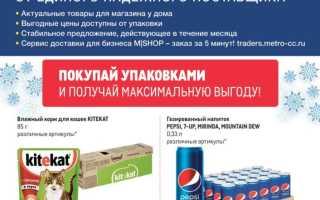 Каталог товаров МЕТРО: Проходим по ценам с 7 января по 3 февраля 2021 года