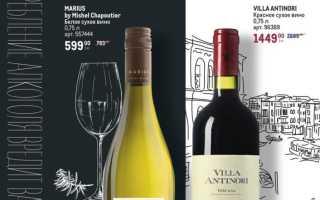 Каталог товаров МЕТРО: Вино. Мировая палитра вкусов с 16 сентября по 27 октября 2021 года