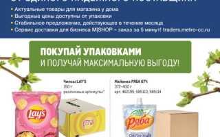 Каталог товаров МЕТРО: Проходим по ценам с 4 по 31 марта 2021 года