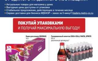 Каталог товаров МЕТРО: Проходим по ценам с 22 июля по 1 сентября 2021 года