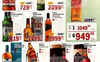 Каталог товаров МЕТРО: Алкоголь по акции с 29 апреля по 12 мая 2021 года