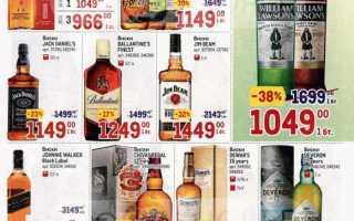 Каталог товаров МЕТРО: Алкоголь по акции с 4 по 17 февраля 2021 года